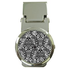 Paisley Pattern Paisley Pattern Money Clip Watches