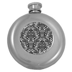 Paisley Pattern Paisley Pattern Round Hip Flask (5 Oz) by BangZart