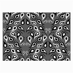 Paisley Pattern Paisley Pattern Large Glasses Cloth by BangZart