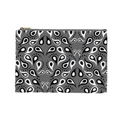 Paisley Pattern Paisley Pattern Cosmetic Bag (large)  by BangZart
