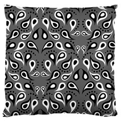 Paisley Pattern Paisley Pattern Large Cushion Case (one Side) by BangZart