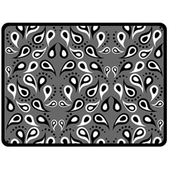 Paisley Pattern Paisley Pattern Double Sided Fleece Blanket (large)  by BangZart