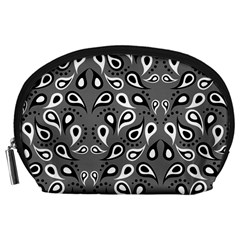 Paisley Pattern Paisley Pattern Accessory Pouches (large)  by BangZart