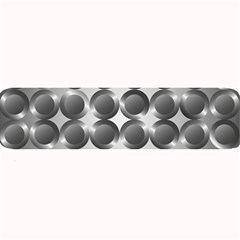 Metal Circle Background Ring Large Bar Mats by BangZart