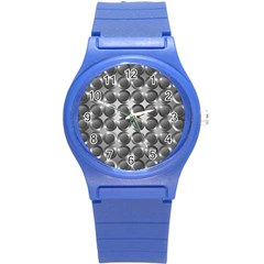 Metal Circle Background Ring Round Plastic Sport Watch (s) by BangZart