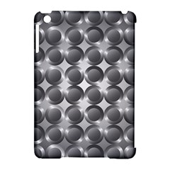 Metal Circle Background Ring Apple Ipad Mini Hardshell Case (compatible With Smart Cover)