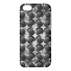 Metal Circle Background Ring Apple Iphone 5c Hardshell Case