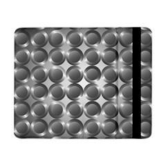 Metal Circle Background Ring Samsung Galaxy Tab Pro 8 4  Flip Case