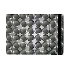 Metal Circle Background Ring Ipad Mini 2 Flip Cases