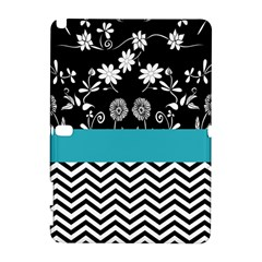 Flowers Turquoise Pattern Floral Galaxy Note 1