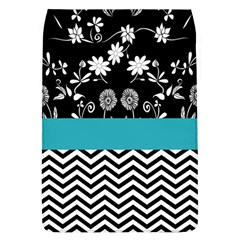Flowers Turquoise Pattern Floral Flap Covers (l)  by BangZart