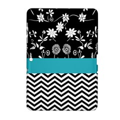 Flowers Turquoise Pattern Floral Samsung Galaxy Tab 2 (10 1 ) P5100 Hardshell Case  by BangZart