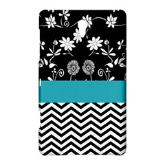 Flowers Turquoise Pattern Floral Samsung Galaxy Tab S (8 4 ) Hardshell Case  by BangZart