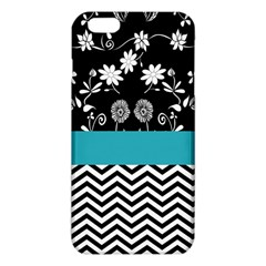 Flowers Turquoise Pattern Floral Iphone 6 Plus/6s Plus Tpu Case