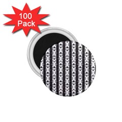 Pattern Background Texture Black 1 75  Magnets (100 Pack)  by BangZart