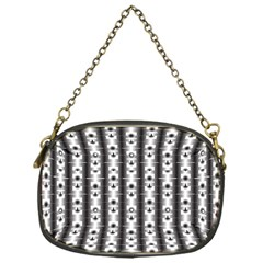 Pattern Background Texture Black Chain Purses (one Side)  by BangZart