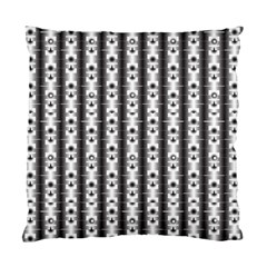 Pattern Background Texture Black Standard Cushion Case (two Sides)