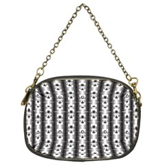 Pattern Background Texture Black Chain Purses (two Sides)  by BangZart