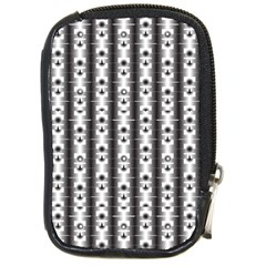 Pattern Background Texture Black Compact Camera Cases by BangZart