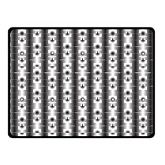 Pattern Background Texture Black Fleece Blanket (small) by BangZart