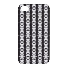 Pattern Background Texture Black Apple Iphone 4/4s Premium Hardshell Case by BangZart