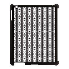 Pattern Background Texture Black Apple Ipad 3/4 Case (black) by BangZart