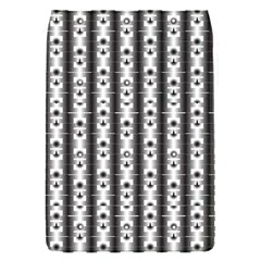 Pattern Background Texture Black Flap Covers (s)  by BangZart