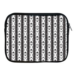 Pattern Background Texture Black Apple Ipad 2/3/4 Zipper Cases by BangZart