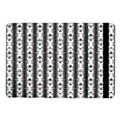 Pattern Background Texture Black Samsung Galaxy Tab Pro 10 1  Flip Case by BangZart