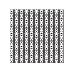 Pattern Background Texture Black Small Satin Scarf (square) by BangZart