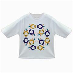 Pattern Circular Birds Infant/toddler T Shirts