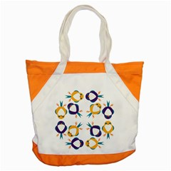 Pattern Circular Birds Accent Tote Bag