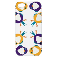 Pattern Circular Birds Apple Iphone 5 Hardshell Case by BangZart