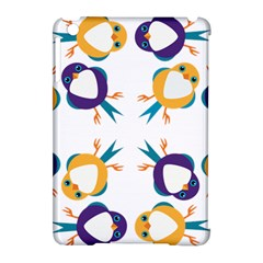 Pattern Circular Birds Apple Ipad Mini Hardshell Case (compatible With Smart Cover) by BangZart