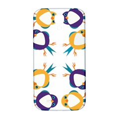 Pattern Circular Birds Samsung Galaxy S4 I9500/i9505  Hardshell Back Case by BangZart