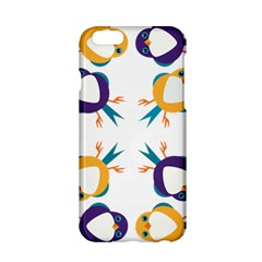 Pattern Circular Birds Apple Iphone 6/6s Hardshell Case by BangZart