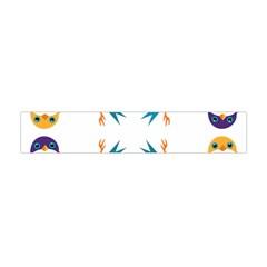 Pattern Circular Birds Flano Scarf (mini) by BangZart