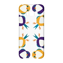 Pattern Circular Birds Samsung Galaxy S8 Hardshell Case  by BangZart