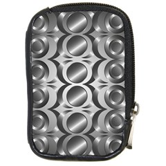 Metal Circle Background Ring Compact Camera Cases by BangZart