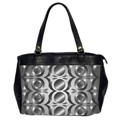 Metal Circle Background Ring Office Handbags (2 Sides)  by BangZart