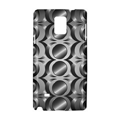 Metal Circle Background Ring Samsung Galaxy Note 4 Hardshell Case by BangZart