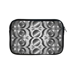 Metal Circle Background Ring Apple Macbook Pro 13  Zipper Case by BangZart