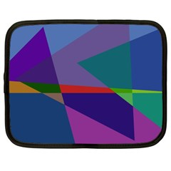 Abstract #415 Tipping Point Netbook Case (XL)  by RockettGraphics