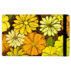 Abstract #417 Apple Ipad 2 Flip Case by RockettGraphics