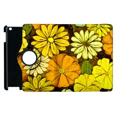 Abstract #417 Apple Ipad 3/4 Flip 360 Case by RockettGraphics