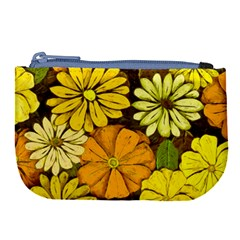 Abstract #417 Large Coin Purse by RockettGraphics