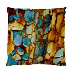 Rusty Texture                   Standard Cushion Case (two Sides) by LalyLauraFLM