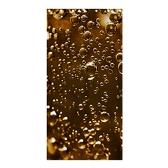 Festive Bubbles Sparkling Wine Champagne Golden Water Drops Shower Curtain 36  X 72  (stall)  by yoursparklingshop