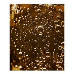 Festive Bubbles Sparkling Wine Champagne Golden Water Drops Shower Curtain 60  X 72  (medium)  by yoursparklingshop