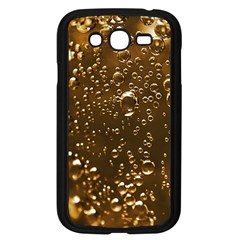 Festive Bubbles Sparkling Wine Champagne Golden Water Drops Samsung Galaxy Grand Duos I9082 Case (black) by yoursparklingshop